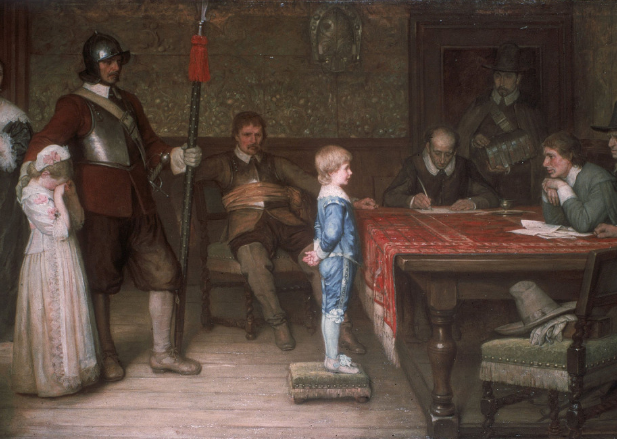 'And when did you last see your father?', 1878 by William Frederick Yeames