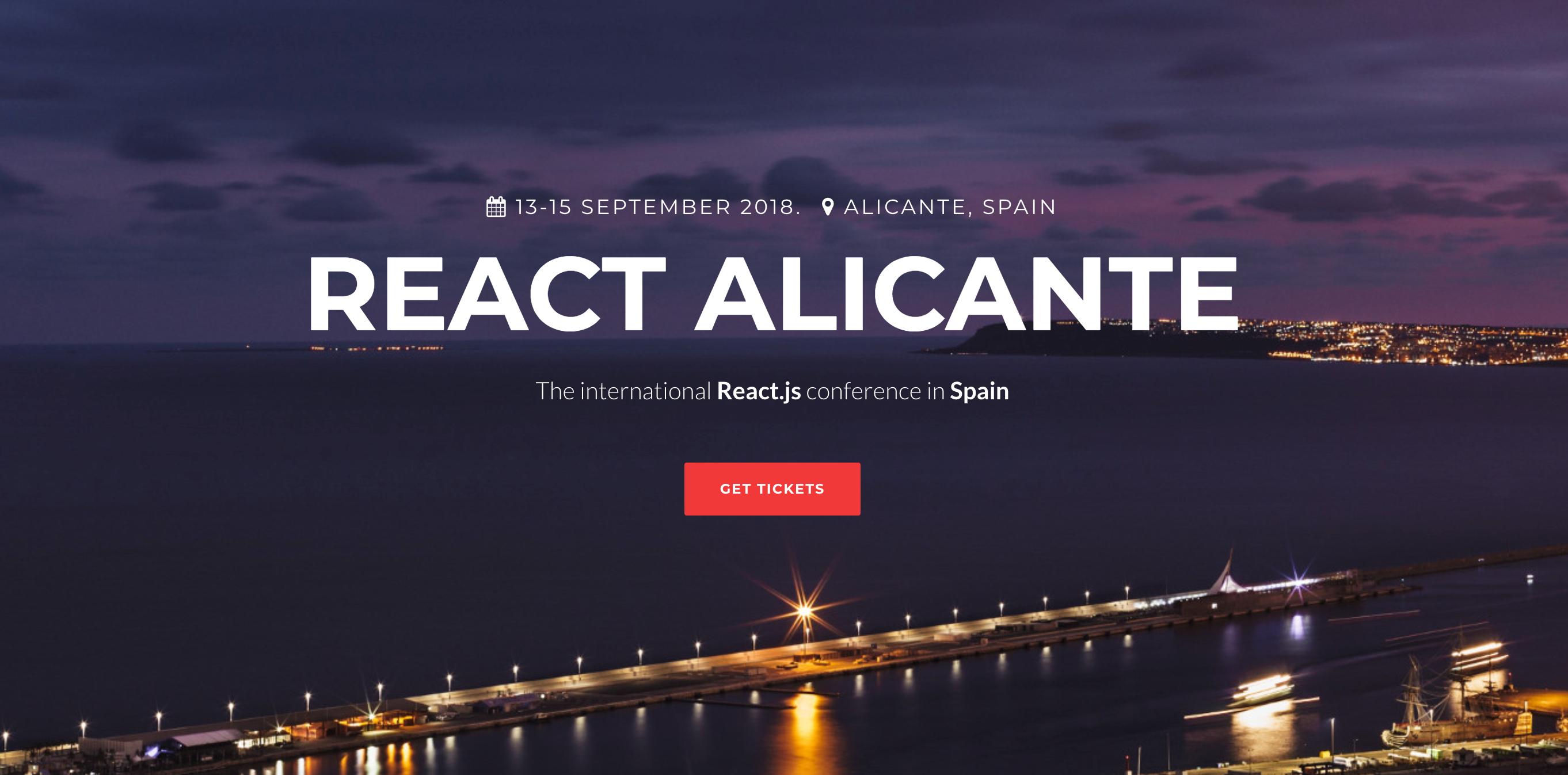 Alicante Night Picture