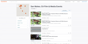 Eventbrite Search Results Page Before Redesign