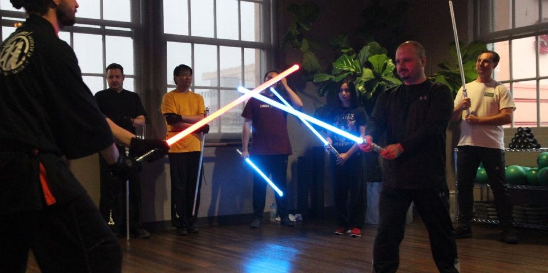Lightsaber Lessons: Jedi Knight Training Center Slashes Into San Francisco