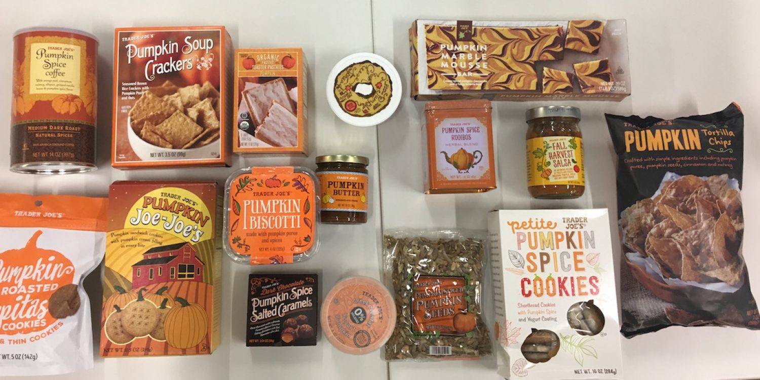 Best Trader Joes Products 2020.Every Trader Joe S Pumpkin Flavored Food Of 2017 Ranked