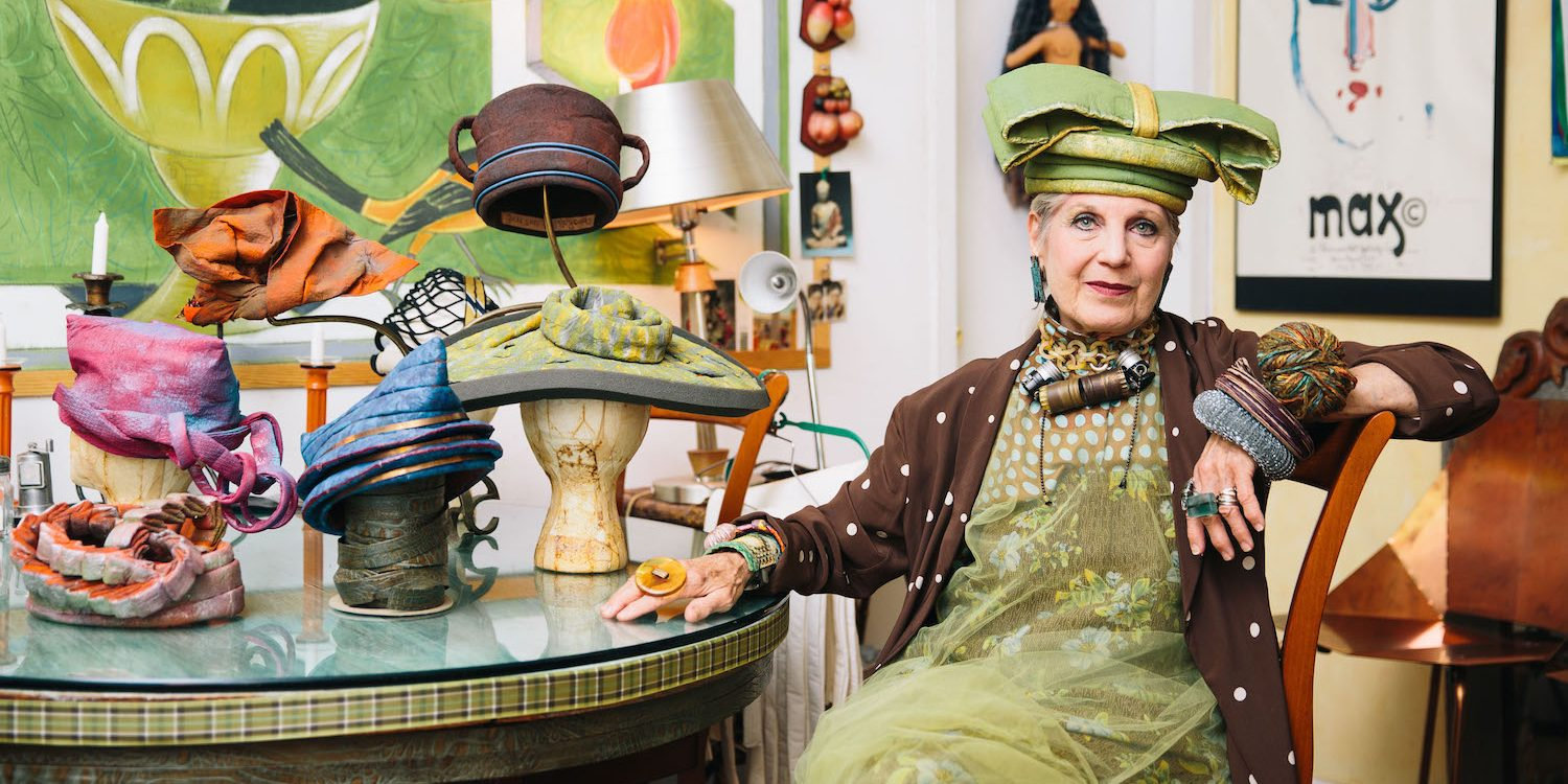 Anything Is a Hat: An Afternoon with NYC Style Icon Debra Rapoport
