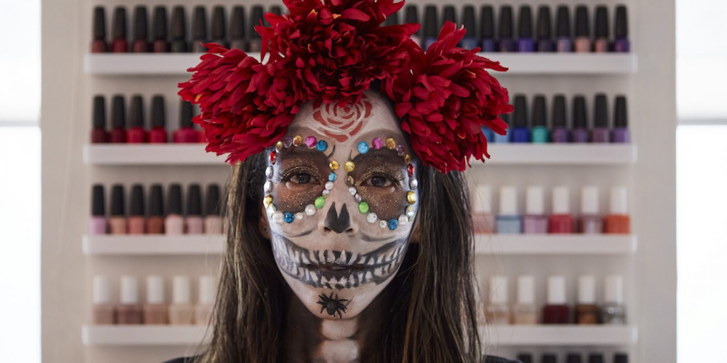 d2dc5d0153946 Step-by-Step Halloween Makeup Tutorial With This LA Artist - Eventbrite