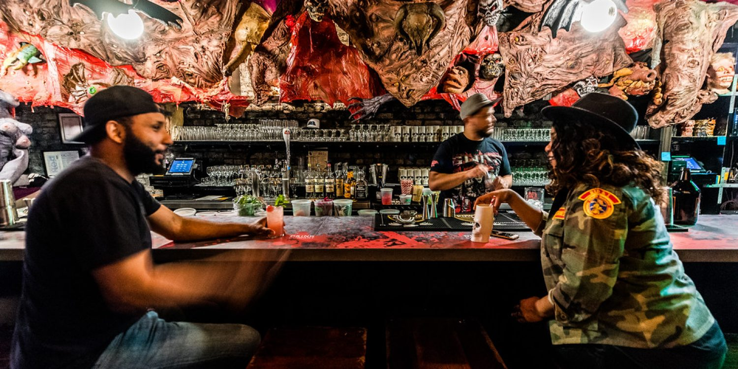 This GWAR Pop-Up Bar Is The Perfect Gory Backdrop to Your Halloween Drinking