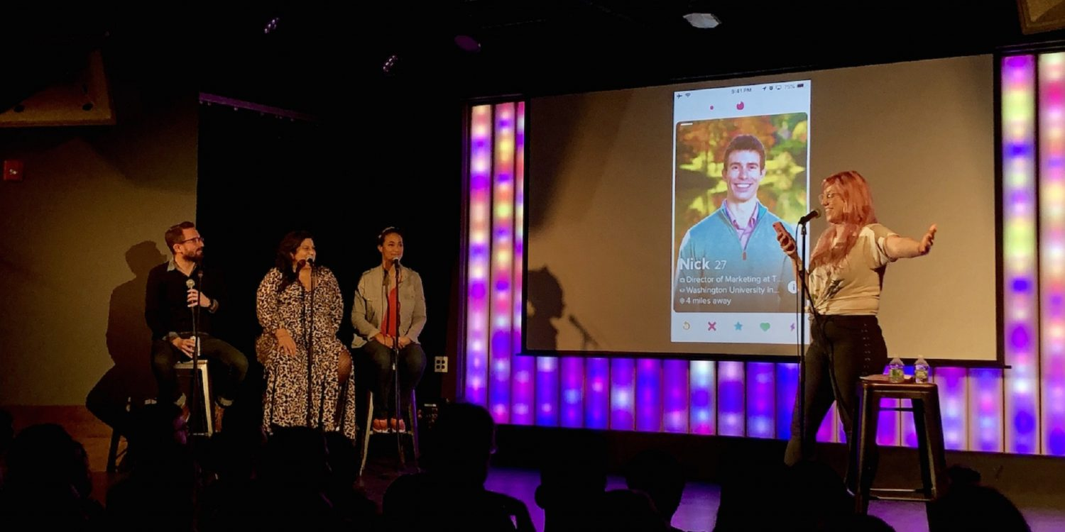 Tinder Live: The Comedy Show That Has People Falling for Lane Moore