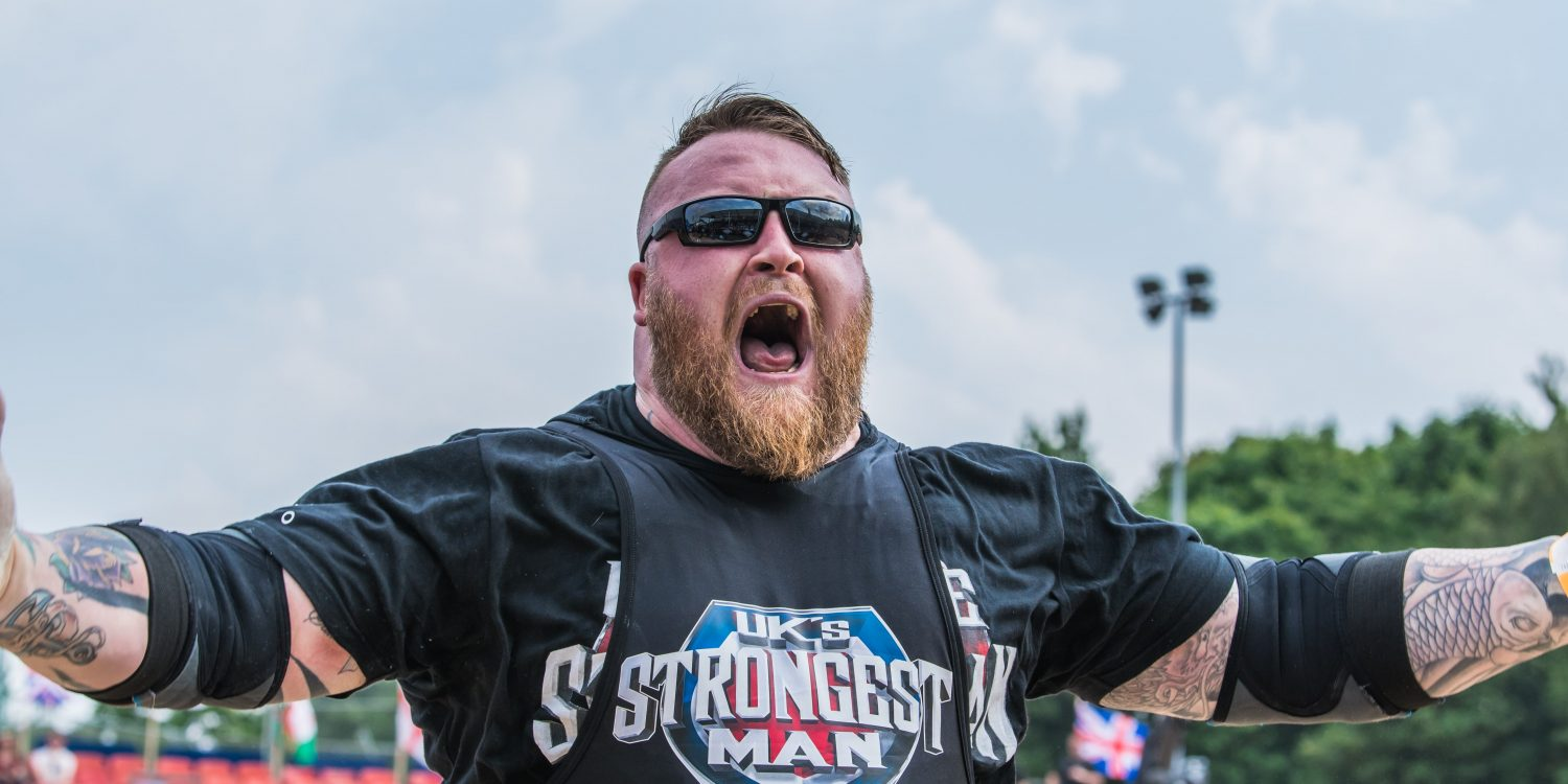 UK's Strongest Man Returns for a Three-Day Festival of Strength