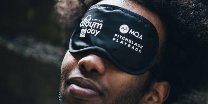 Pitchblack Playback 1 - man with blindfold