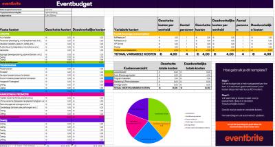 excel template budget evenement