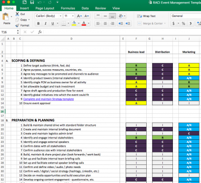 Your Event Management Plan Download The Free Excel Template
