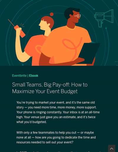 How to Maximise Your Event Budget