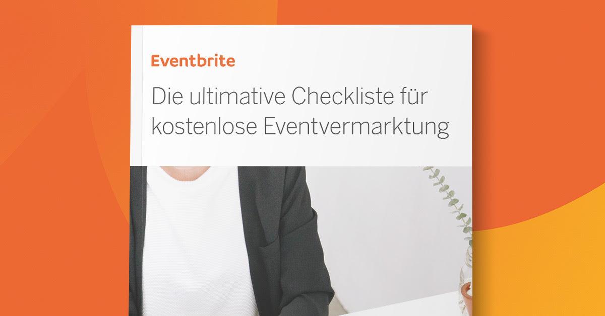 Checkliste für kostenlose Eventvermarktung