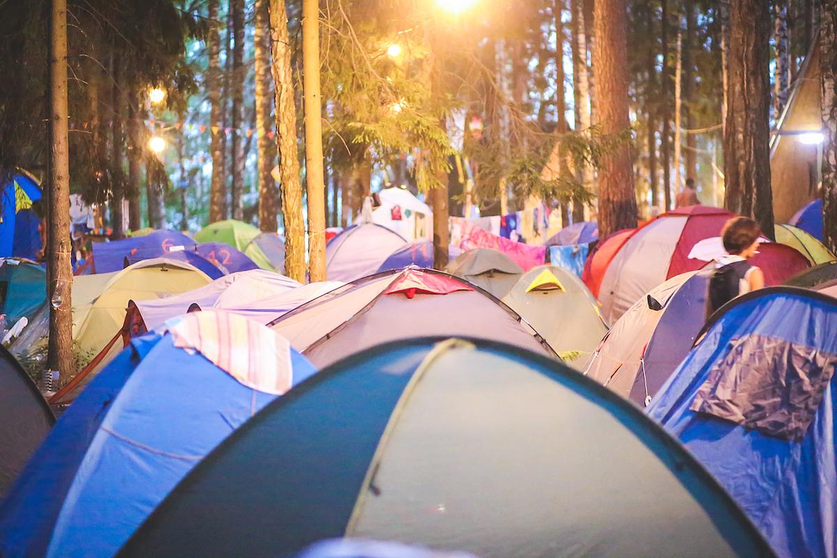 Organisation von Festivals