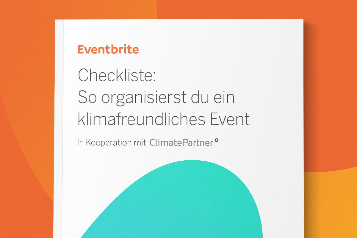 Checkliste: So organisierst du ein klimaneutrales Event