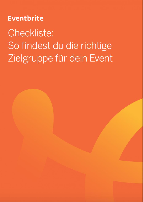 Checkliste: Finde die richtige Zielgruppe für dein Event