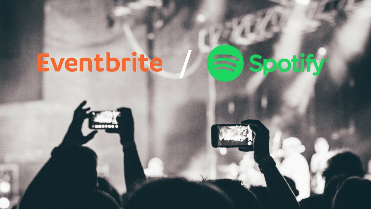 eventbrite spotify partnership