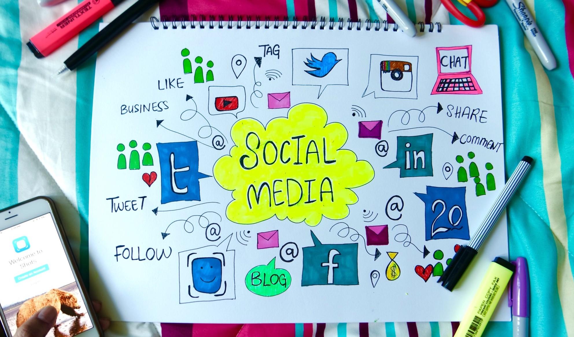 Social-Media-Inhalte