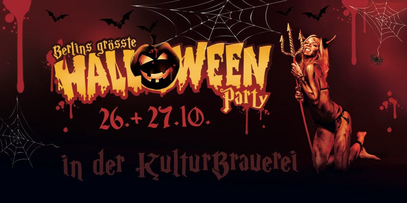 Halloween Party Berlin Hamburg München