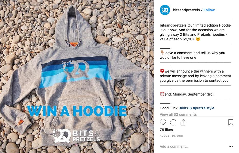 instagram contest ideen events