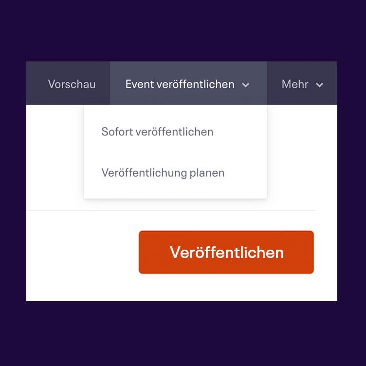 Facebook Ticketshop Schritt 1 - Event erstellen