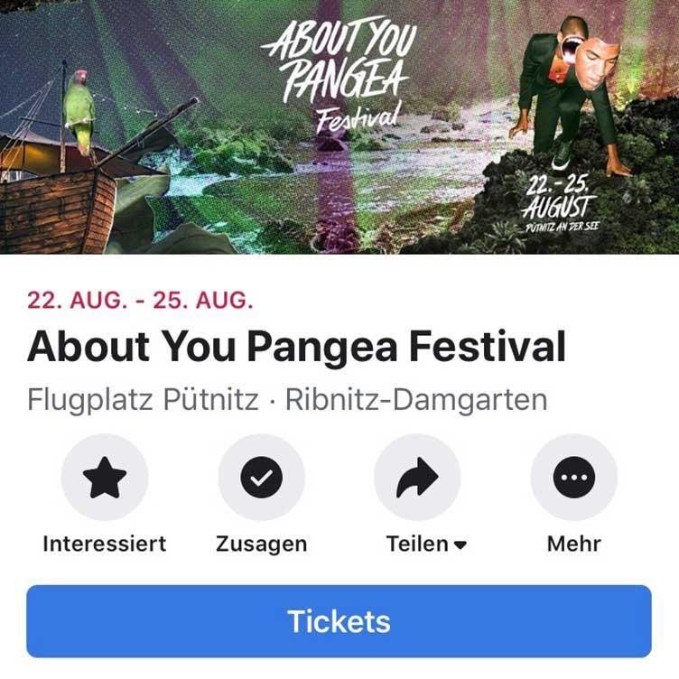 Facebook Ticketshop Schritt 3 - Tickets verkaufen