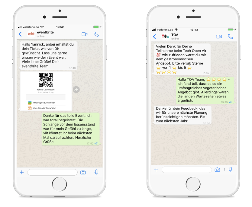 Whatsapp Newsletter Verbot