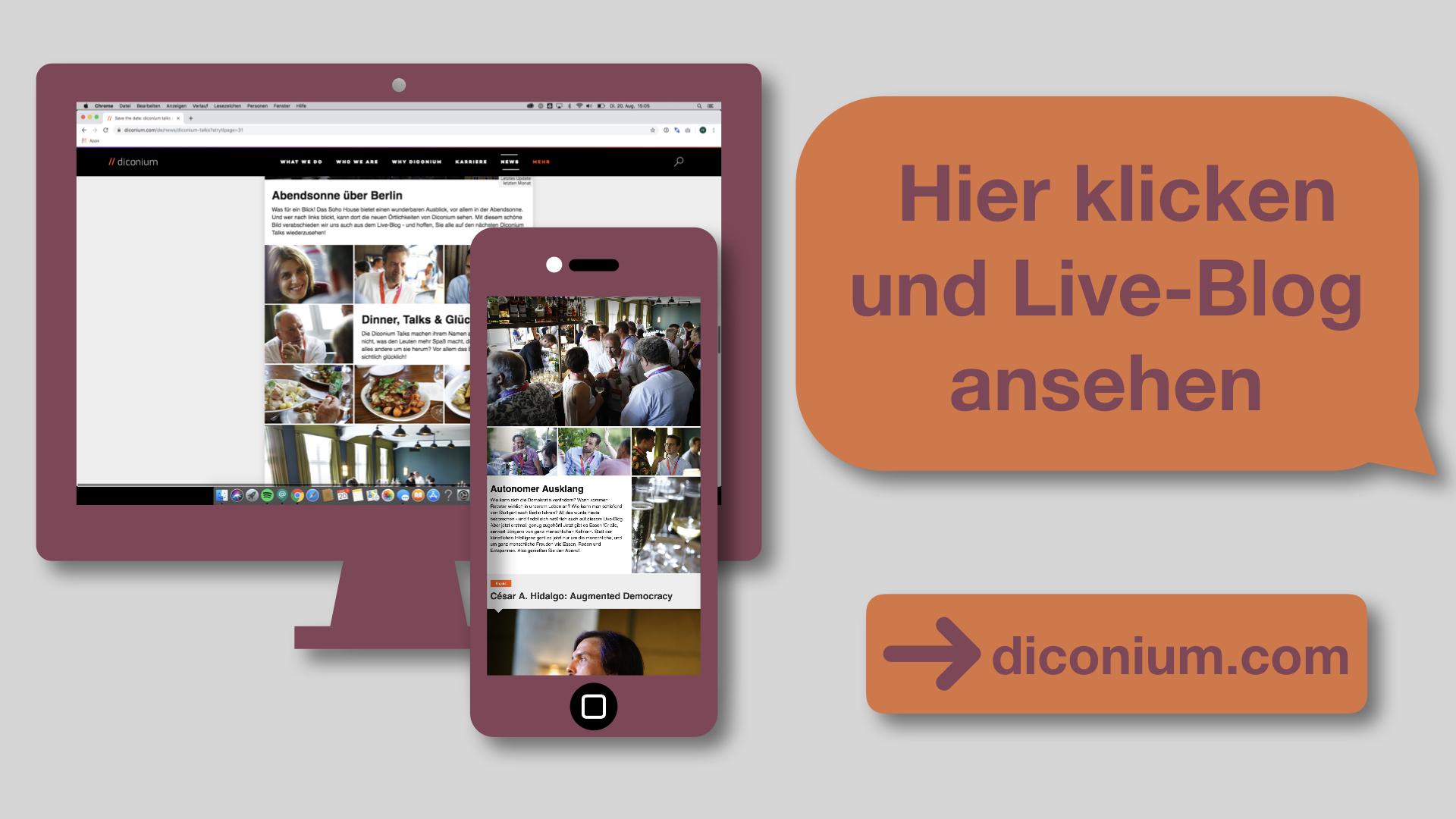 live blog für events