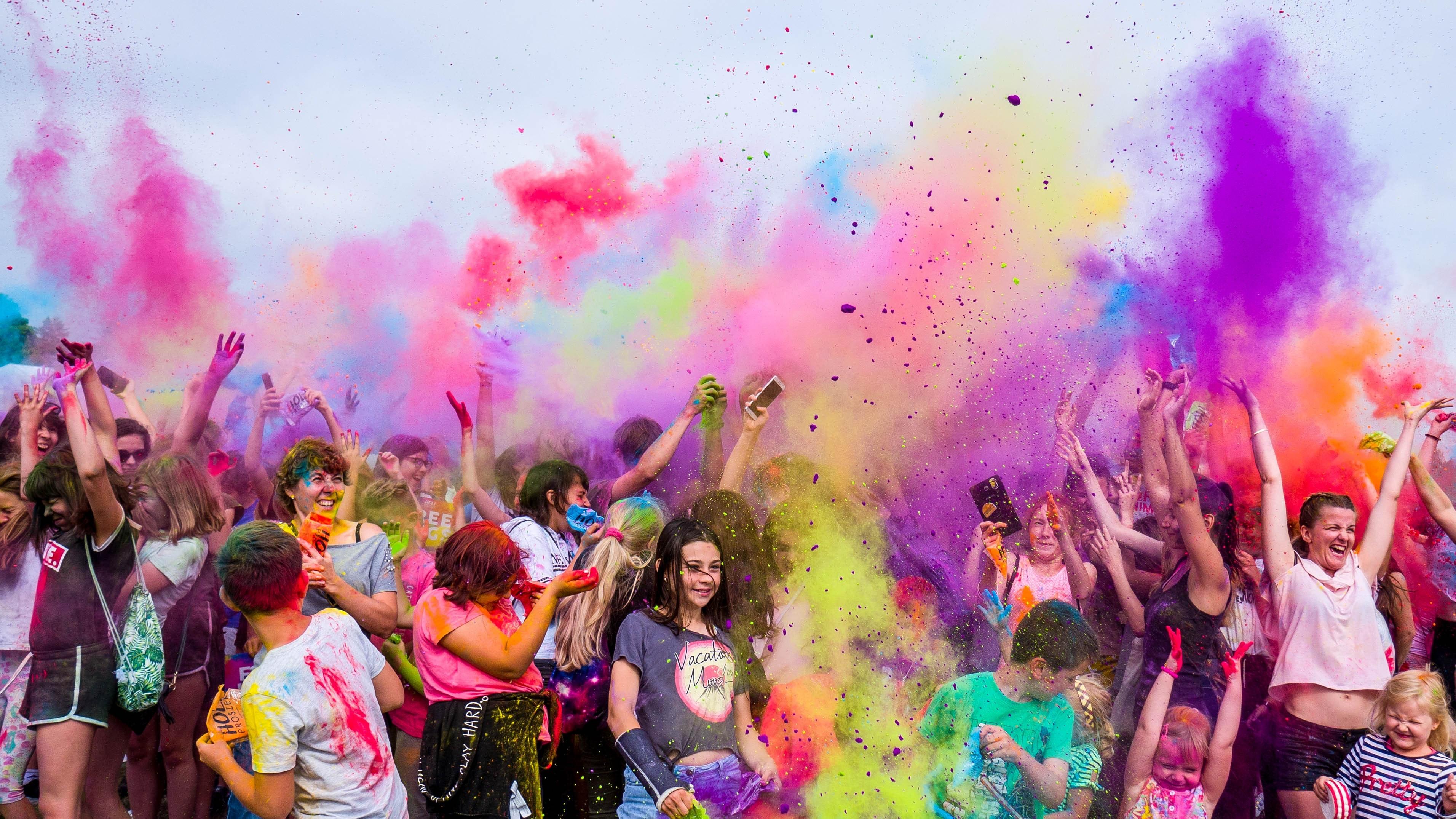 Vielfalt und Inklusion bei einem bunten Event