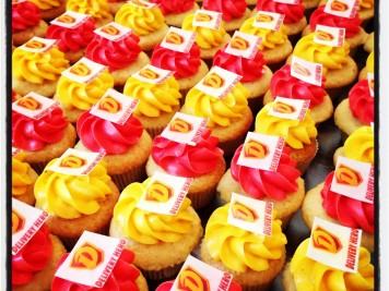 Catering mit Cupcakes