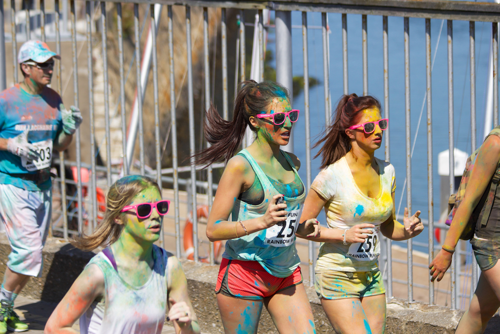 Event partnerships: Swisse Vitamins and Colour Run