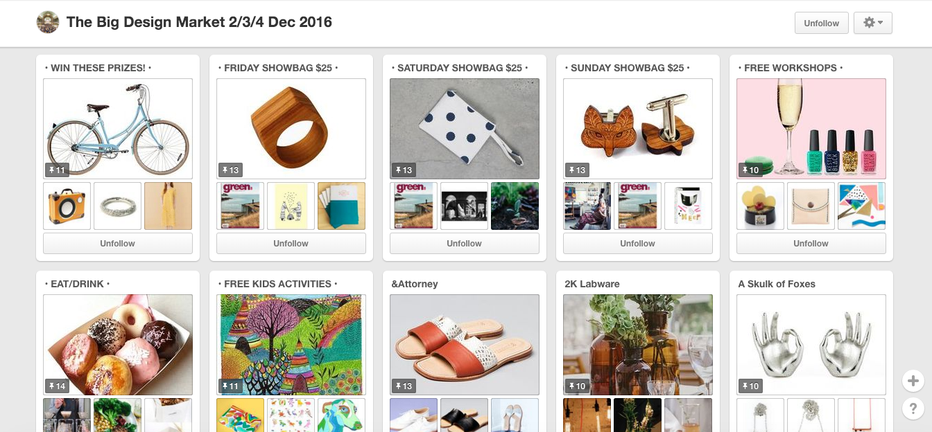 Social Media - Event Marketing on Pinterest