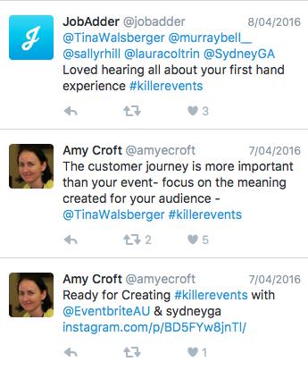 Event Marketing - Social Media - Twitter