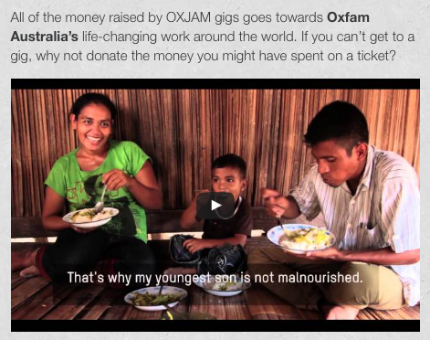 Fundraising Event Tips - Oxjam Example - not for profit events