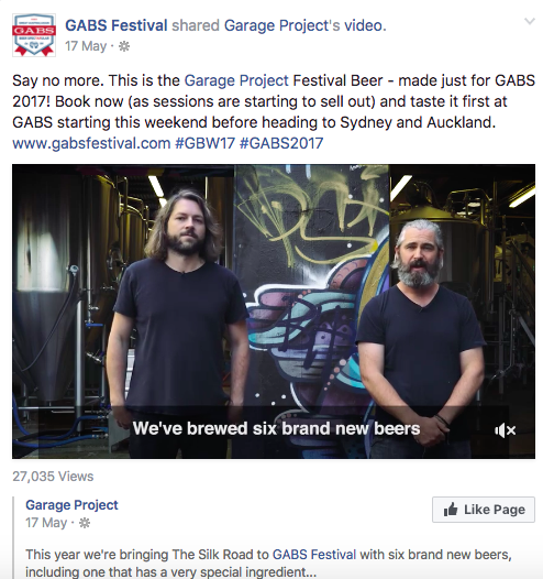 Getting Smart With Social: How the GABS Festival Engages with Beer Lovers and Brewers To Promote Their Event All Year Round