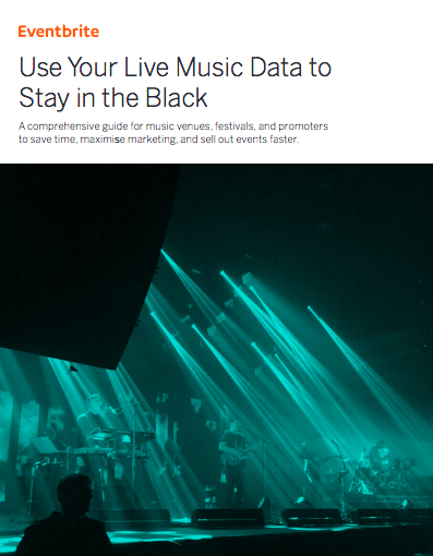 Use Your Live Music Data to Stay in the Black