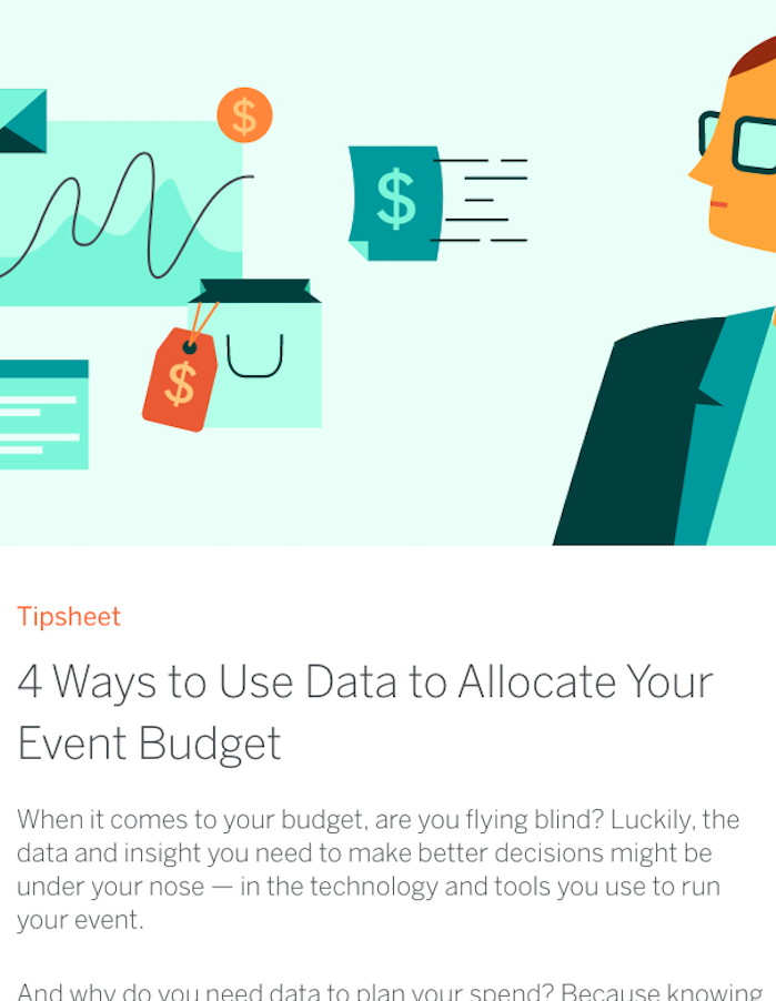4 Ways to Use Data to Allocate Your Event Budget