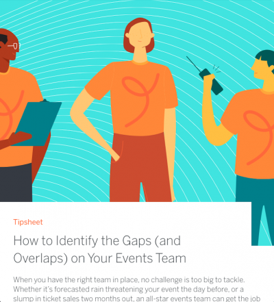 How to Identify the Gaps (and Overlaps) on Your Events Team