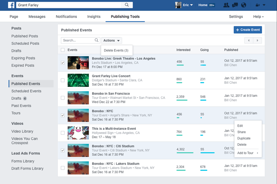 event-marketing facebook