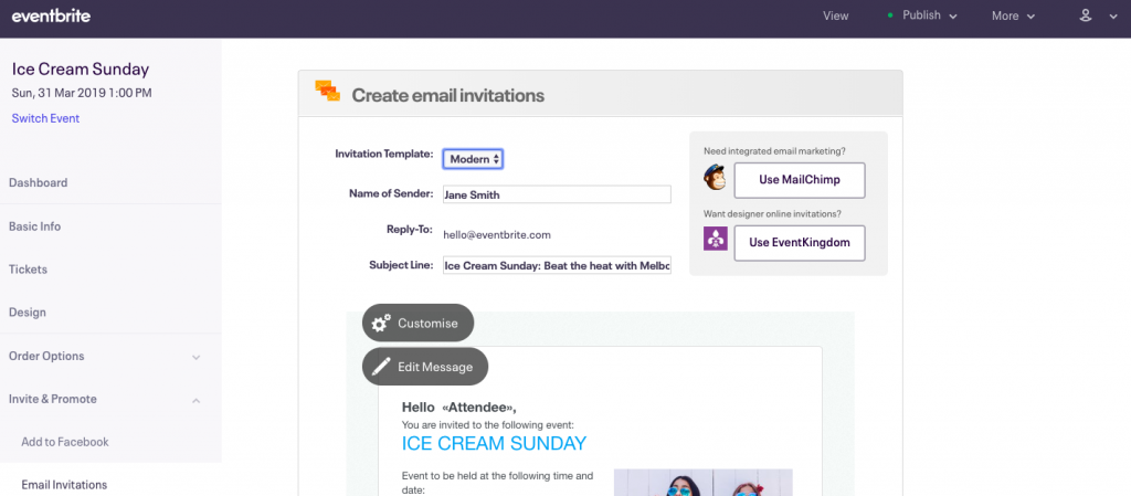 3 Event Invitation Templates To Make Your Own Eventbrite New