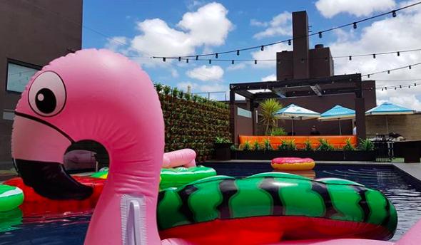 Unique event venues Melbourne - the pool deck