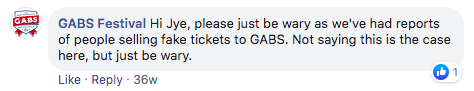 GABS Facebook Event Strategy