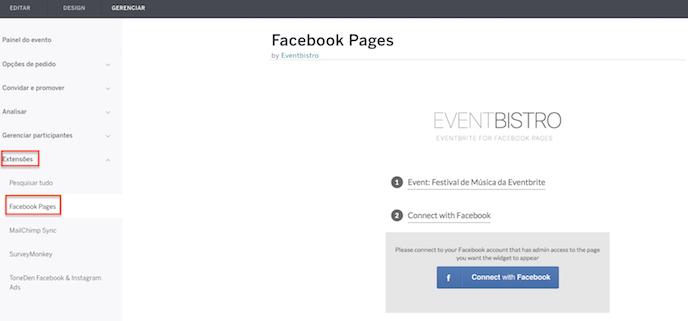 vender ingressos no facebook