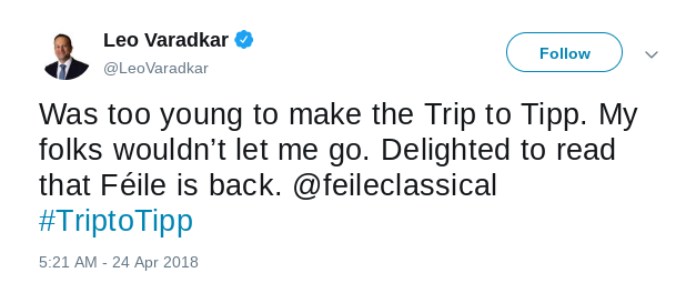 The Return Trip to Tipp