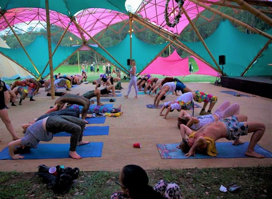 Why Yoga Events Are Stretching In Popularity In Ireland An Interview With Deep House Yoga Project