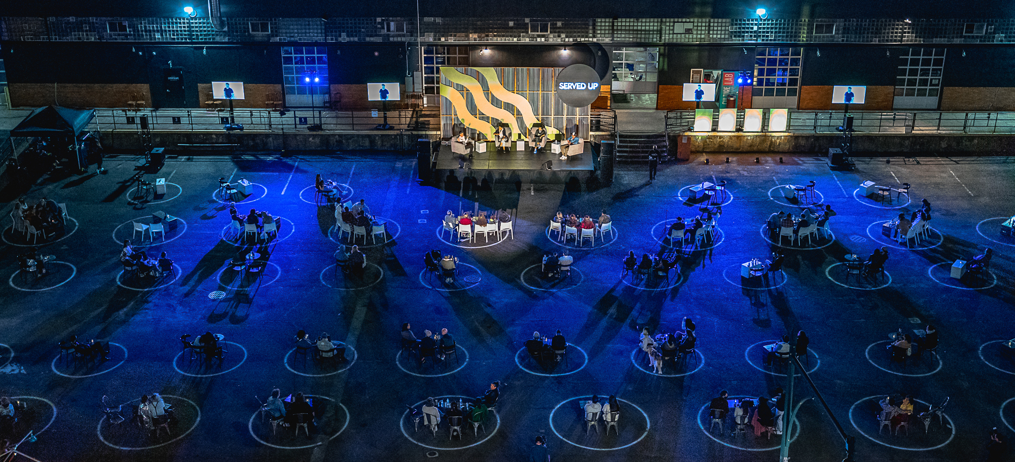 social distancing, new events industry rules