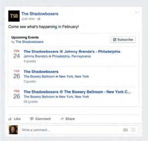 promote event on facebook
