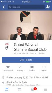 selling tickets on facebook