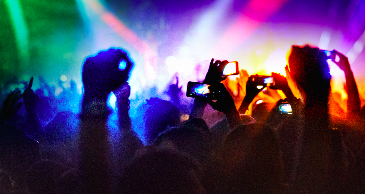 The Evolution And Bright Future Of Mobile Phones At Live Events Eventbrite Us Blog