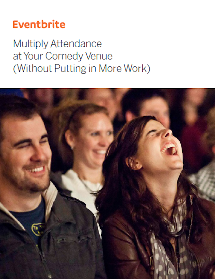 Multiply attendance at your comedy venue