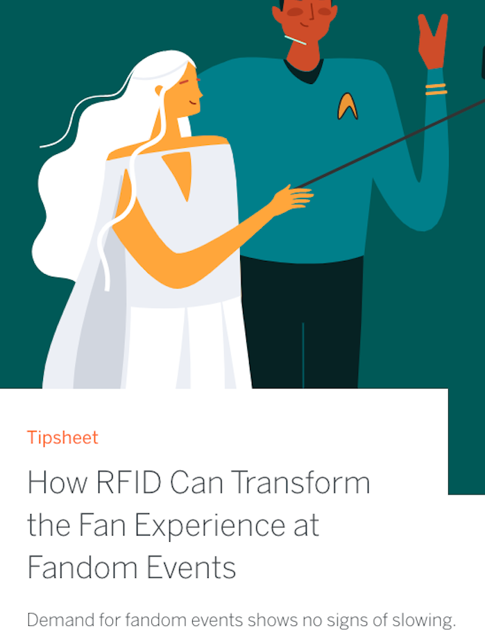How RFID Can Transform the Fan Experience at Fandom Events