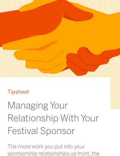 festival sponsorship